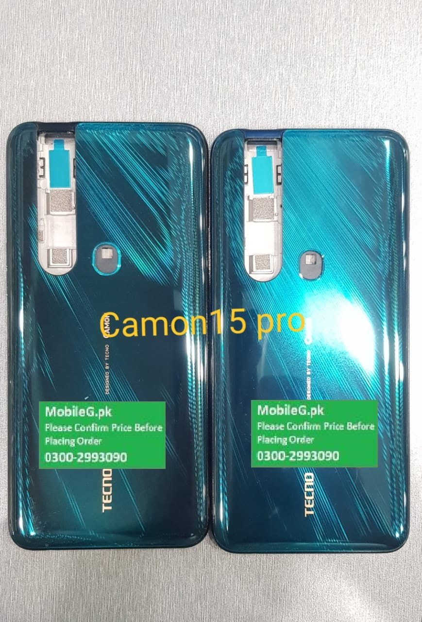 Tecno Camon 15 Pro Complete Housing-Casing With Middle Frame Buy In Pakistan