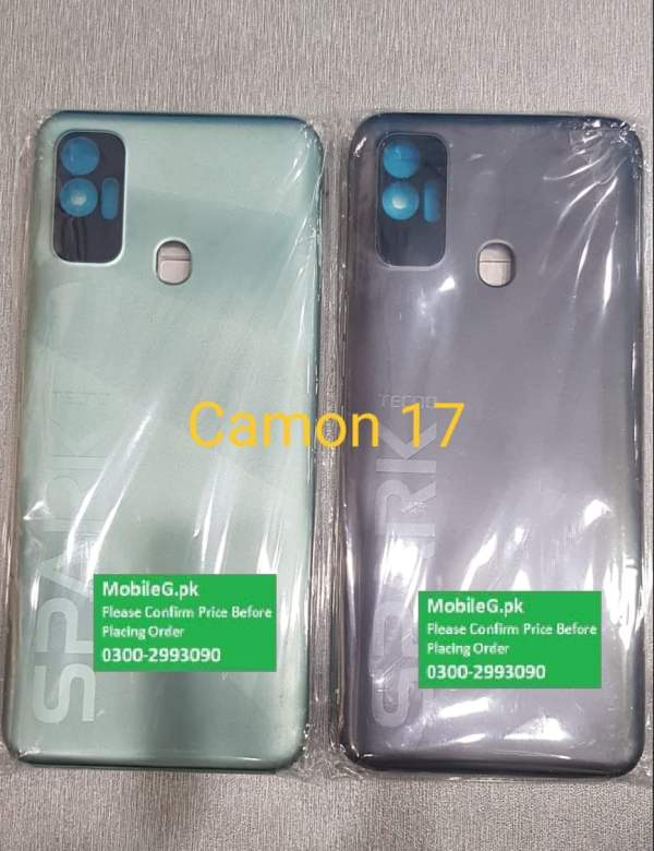 Tecno Camon 17 Complete Housing-Casing With Middle Frame Buy In Pakistan