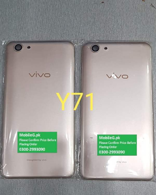 Vivo Y71 Complete Housing-Casing With Middle Frame Buy In Pakistan