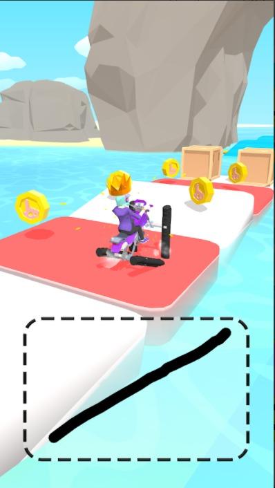 تحميل لعبة Scribble Rider للاندرويد