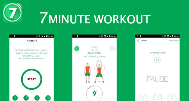 تطبيق 7 Minute Workout Pro