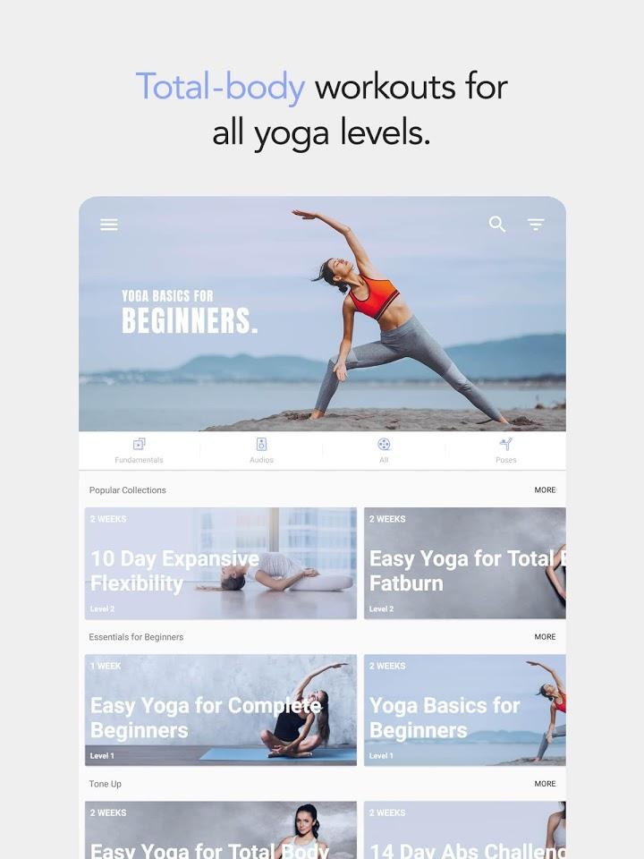 تطبيق daily yoga