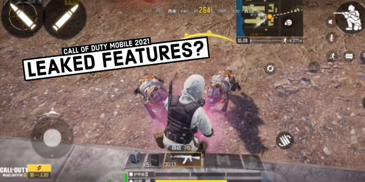 Call of Duty Mobile Leaked Features 2021
