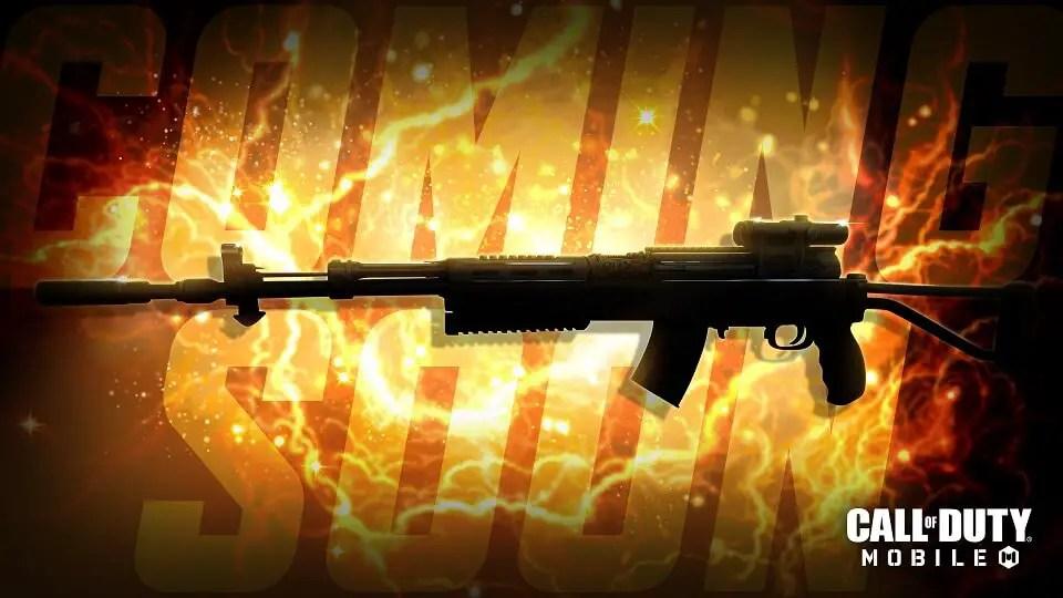 Call of Duty Mobile New Gun SKS