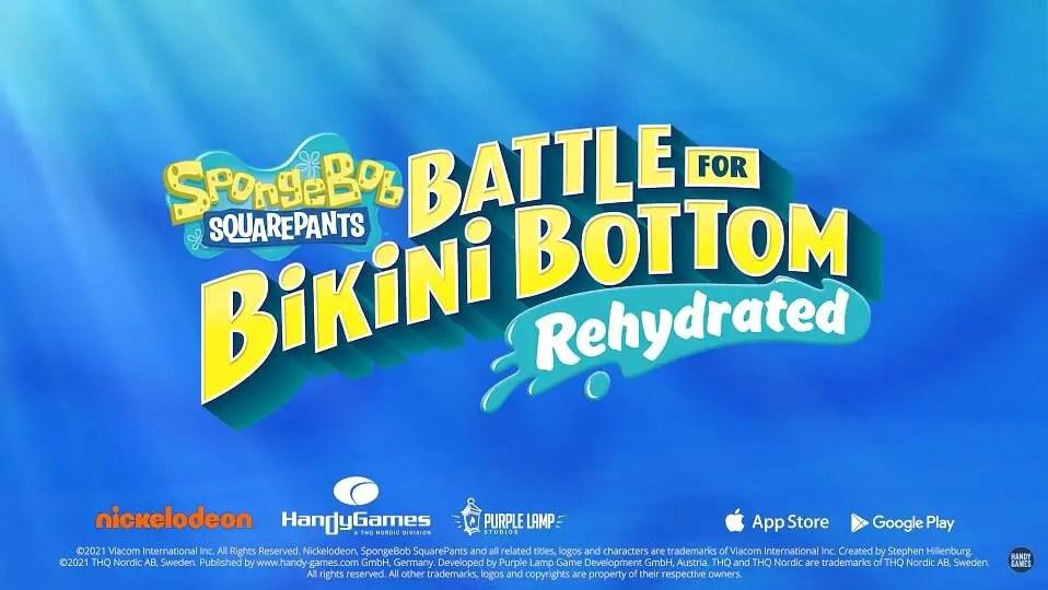 SpongeBob SquarePants Battle For Bikini Bottom Release Date
