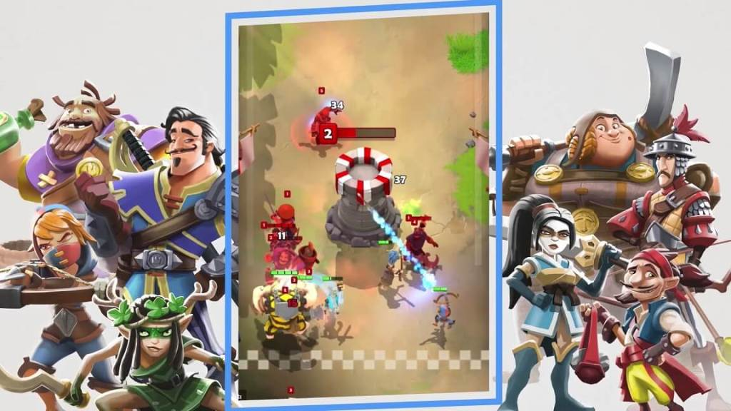 Darkfire Heroes Screenshot