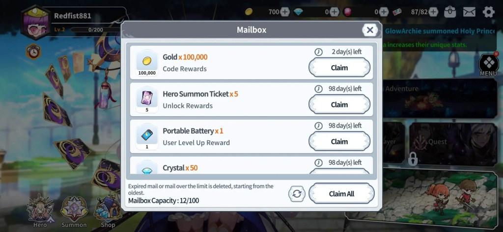 Arcana Tactics Promo Code reward