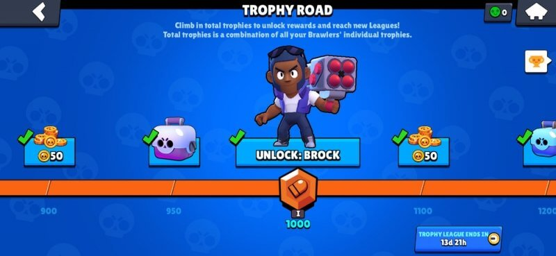 Progress through the trophy road to get Power Points