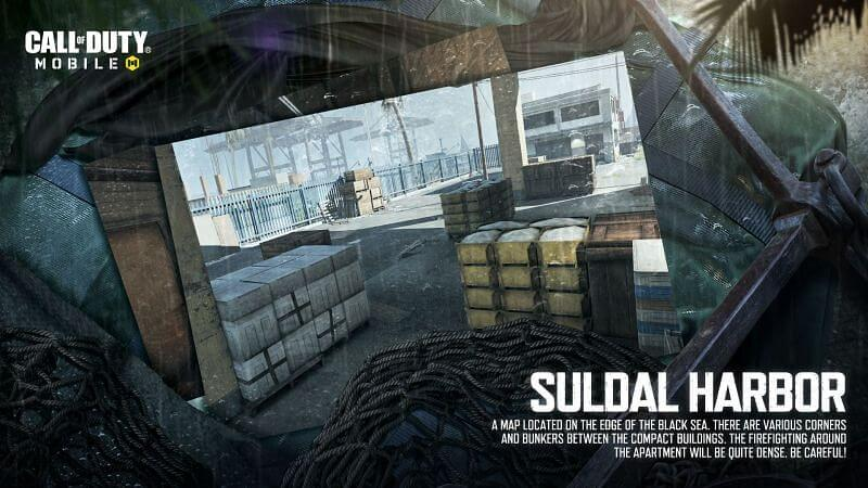 New Maps In COD Suldal Harbor