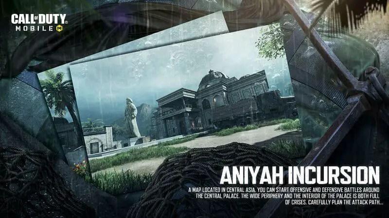 New Maps In COD Aniyah Incrusion