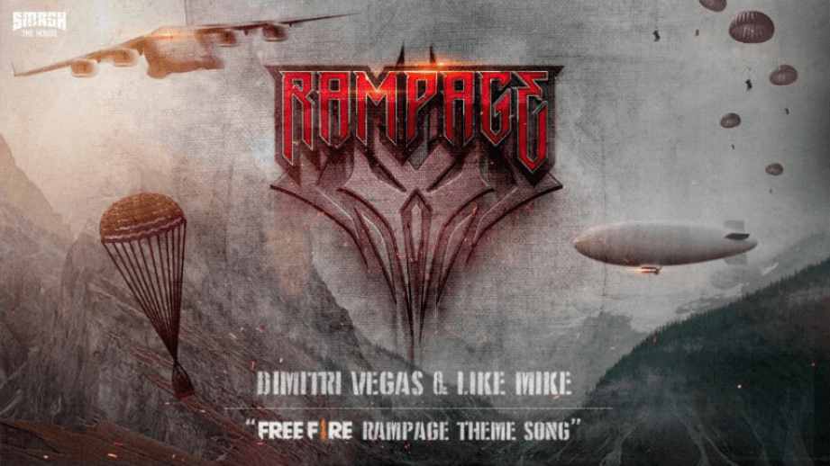Free fire theme song for Rampage new dawn by Dimitri Vegas and Like Mike