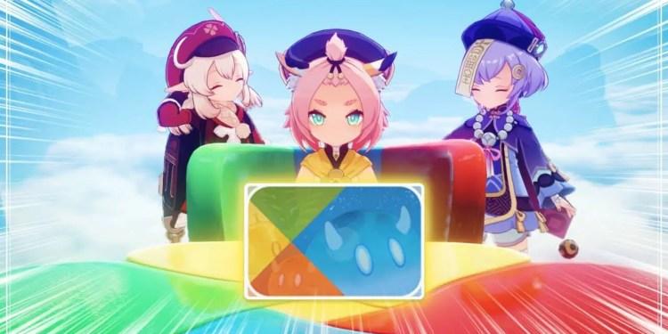 Genshin Impact Google Play Gift Card Collab