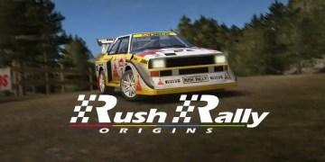 rush rally origins poster