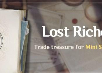 Lost Riches Event