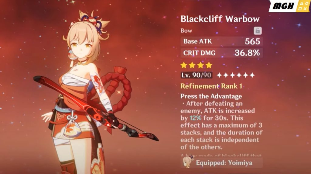 Blackcliff Warbow