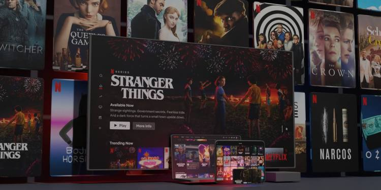 Testing of Netflix Games in Poland.