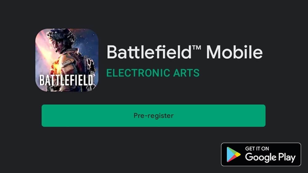 Battlefield Mobile Play Store ss