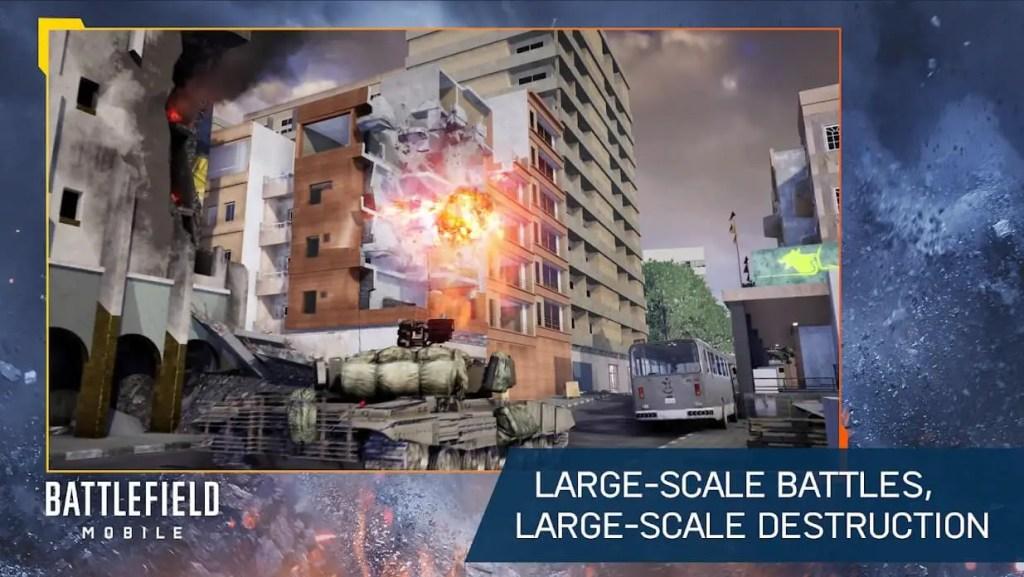Battlefield Mobile battle ss