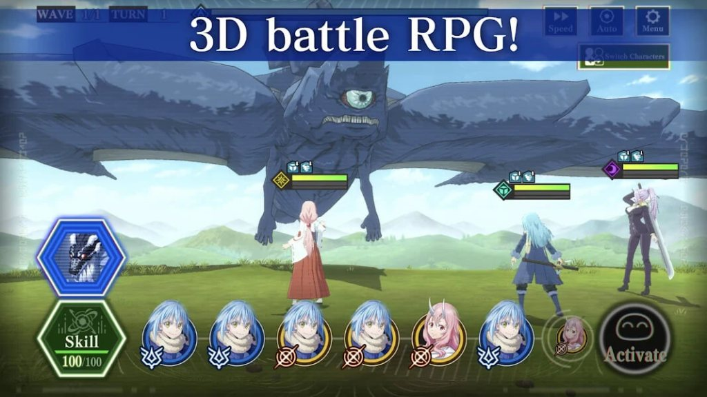 Duels in that time i got reincarnated as a slime ISEKAI Memories