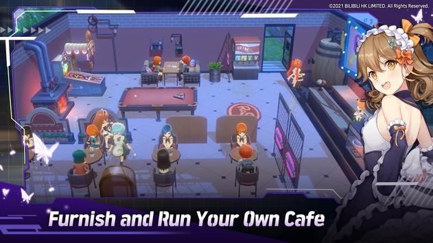You can furnish and run your own cafe.