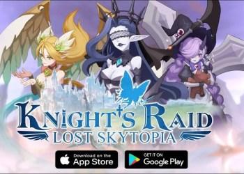 Knight's Raid: Lost Skytopia Gift Codes