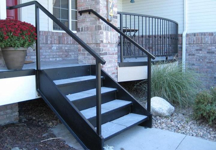 Premade Stairs For Mobile Homes Mobile Homes Ideas   Outside Stairs For Mobile Home   Front Door   Wood   Trailer   Fiberglass   Decks