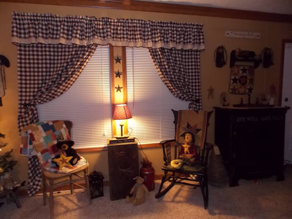 Primitive Country Manufactured Home Decorating Ideas