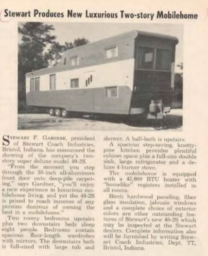 2story-2 Pacemaker Tri Level Mobile Home on 2 story trailer mobile home, vintage two-story mobile home, antique vintage mobile home,