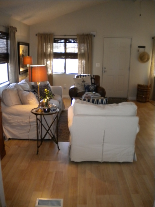 Manufactured Home Decorating Ideas - Modern Cottage Style