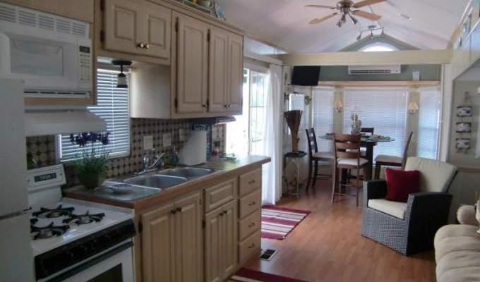 stylish key largo park model home. Black Bedroom Furniture Sets. Home Design Ideas