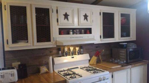 Mobile Home Kitchen Makeover Farmhouse Style 6