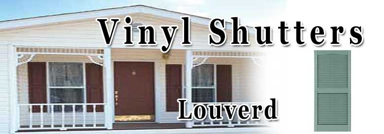 Mobile Home Louvered Shutters