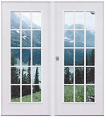 double french doors 72 x 76 l h open