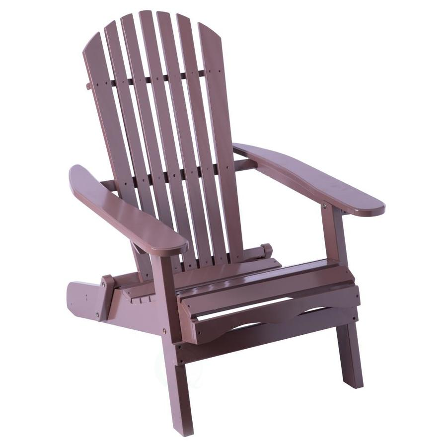 quickway imports fordable patio lounge chair wood in the patio chairs department at lowes com