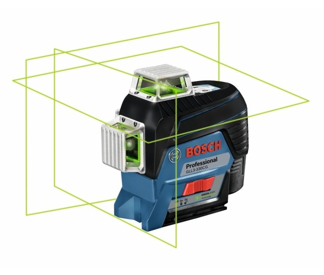 Bosch  Ft Beam Cross Line Laser Level With Plumb Points