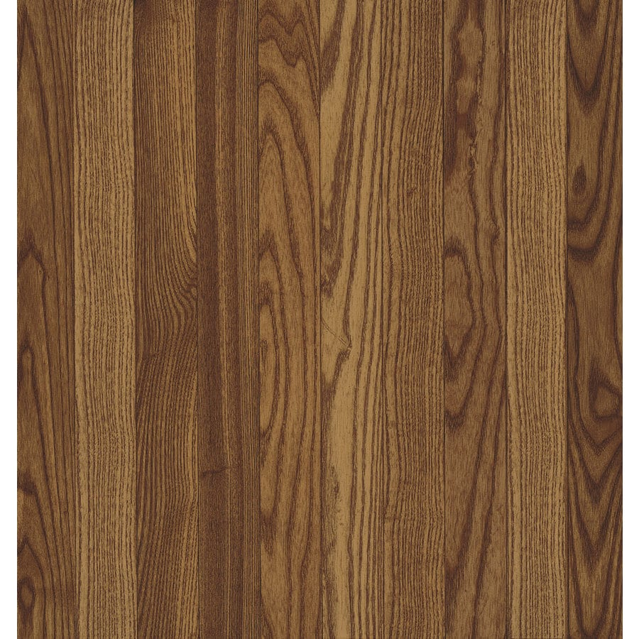 Shop Bruce Oak Hardwood Flooring Sample Gunstock At