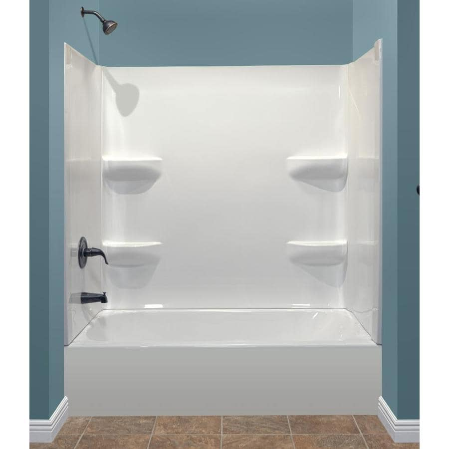 Shop Style Selections 53875 In White With Left Hand Drain