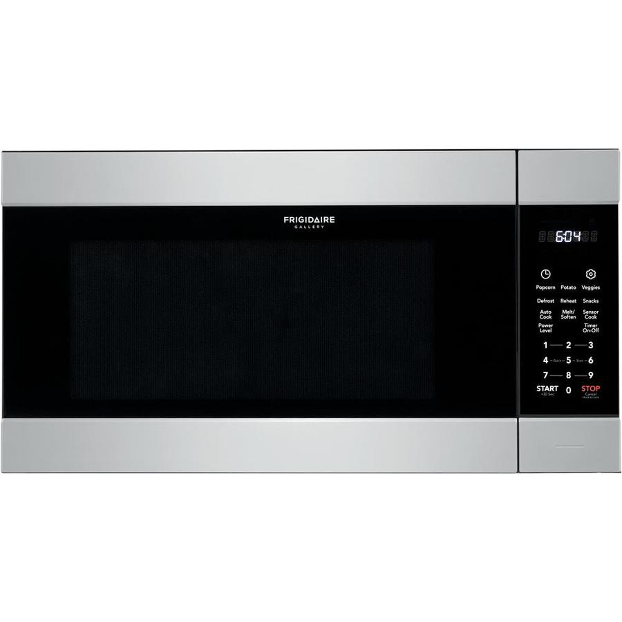 frigidaire gallery 2 2 cu ft built in microwave with sensor cooking controls smudge proof stainless steel