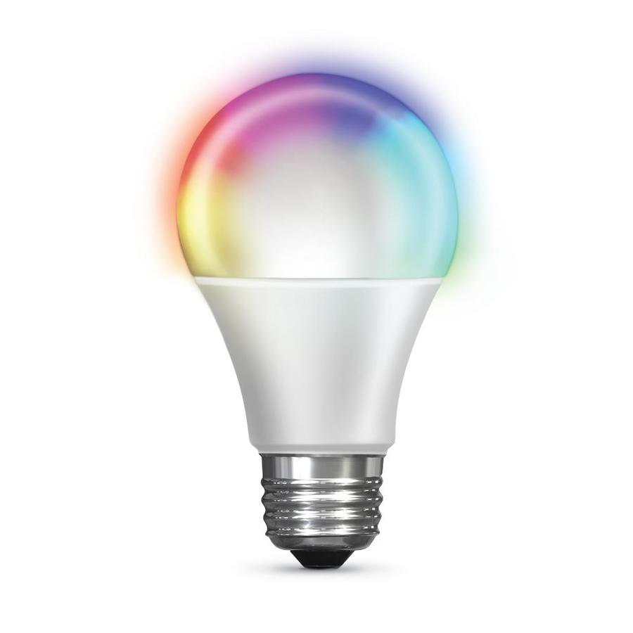 Feit Electric Smart Wifi 60 Watt Eq A19 Color Enhancing Dimmable Led Light Bulb In The General Purpose Led Light Bulbs Department At Lowes Com