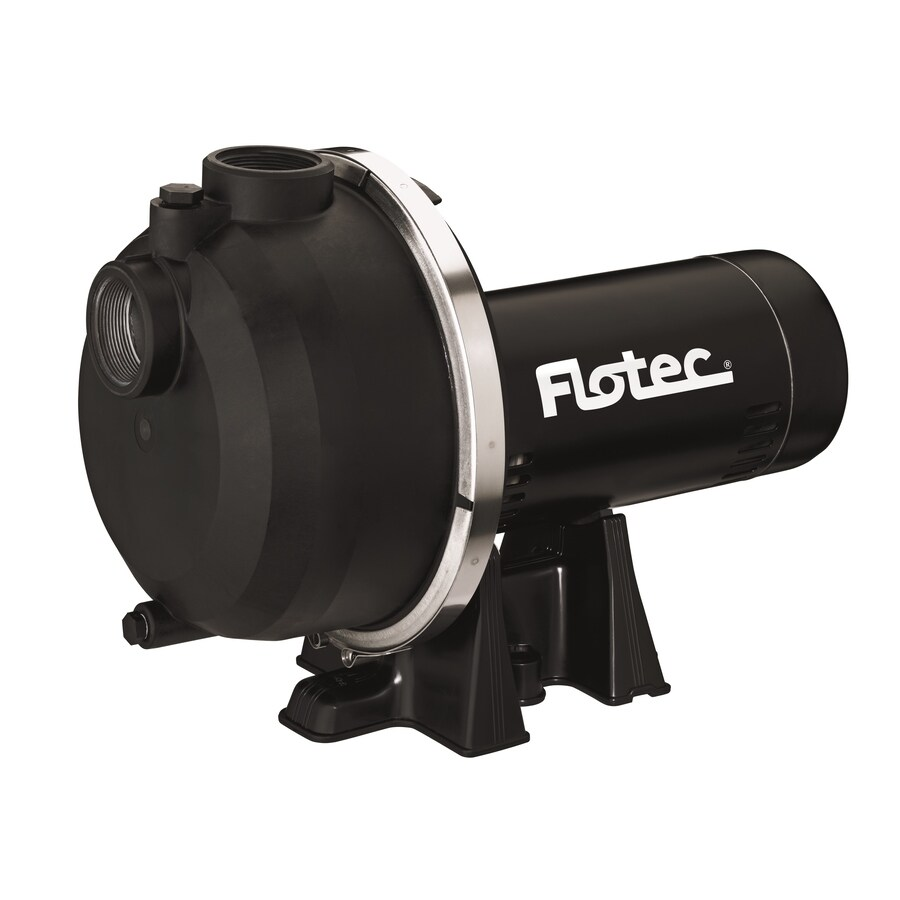 Shop Flotec 2 Hp Thermoplastic Lawn Pump At Lowes