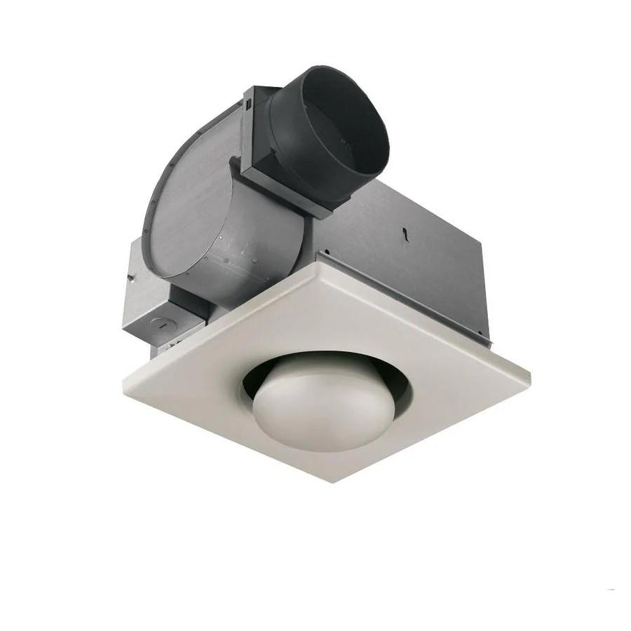 broan fan with infrared bulbs 4 sone 70 cfm white bathroom fan and heater