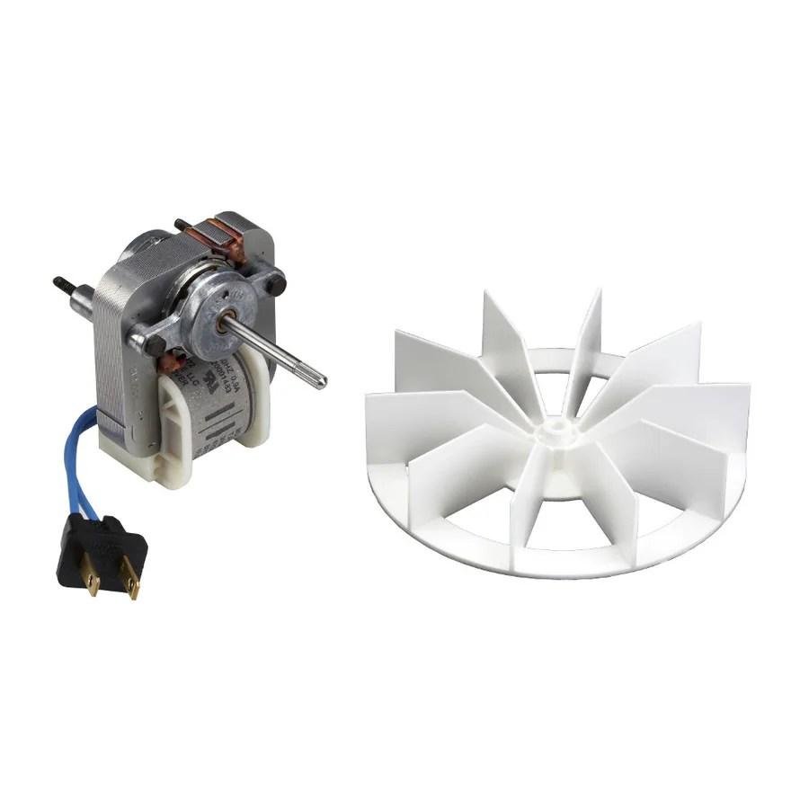 shop broan metal bath fan motor at lowes
