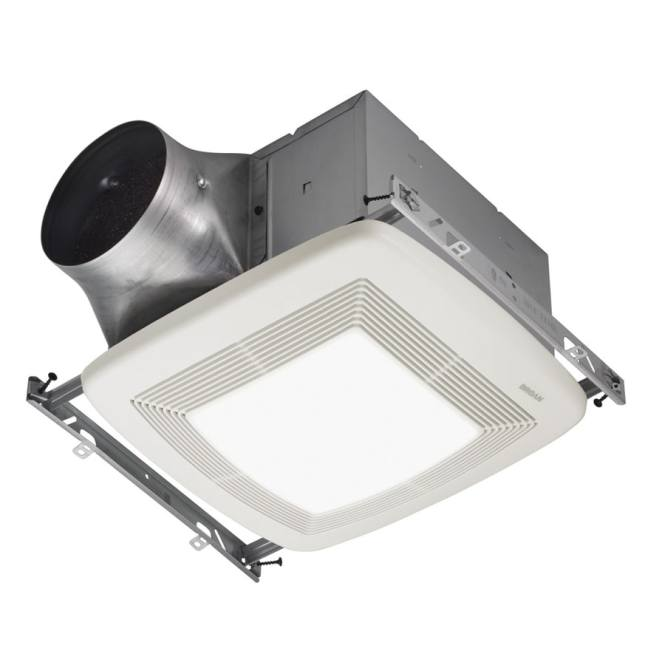 Ceiling Exhaust Bath Fan With Light