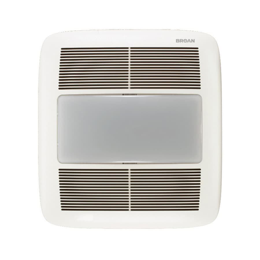shop broan 1.5-sone 140-cfm white bathroom fan energy star at