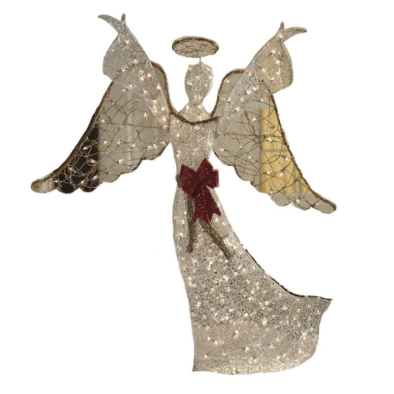 Christmas angel outdoor decorations for Angel outdoor decoration