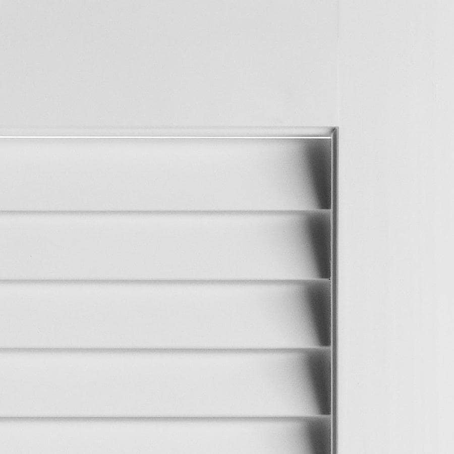 masonite traditional white louver wood pine bifold door on 29 5 White 30 X 79 Bifold Doors Interior Amp Closet id=61977