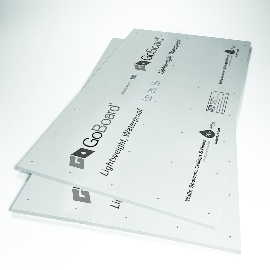 waterproof backer board