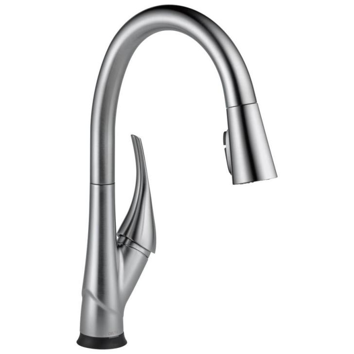 Arctic Stainless Handle Pull Down Touch Kitchen Faucet