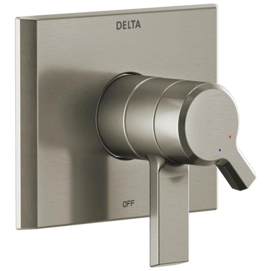 delta 0 5 in stainless bathtub shower mixer