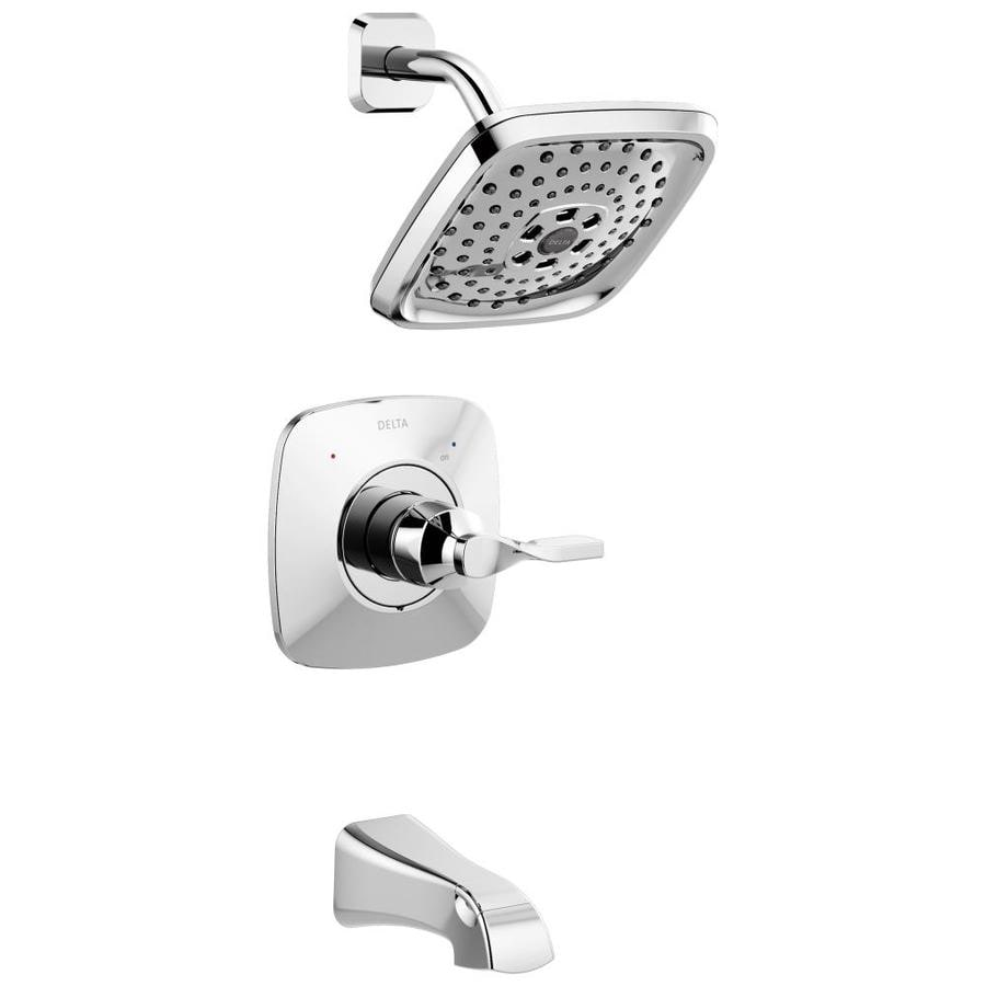 delta sawyer chrome 1 handle bathtub